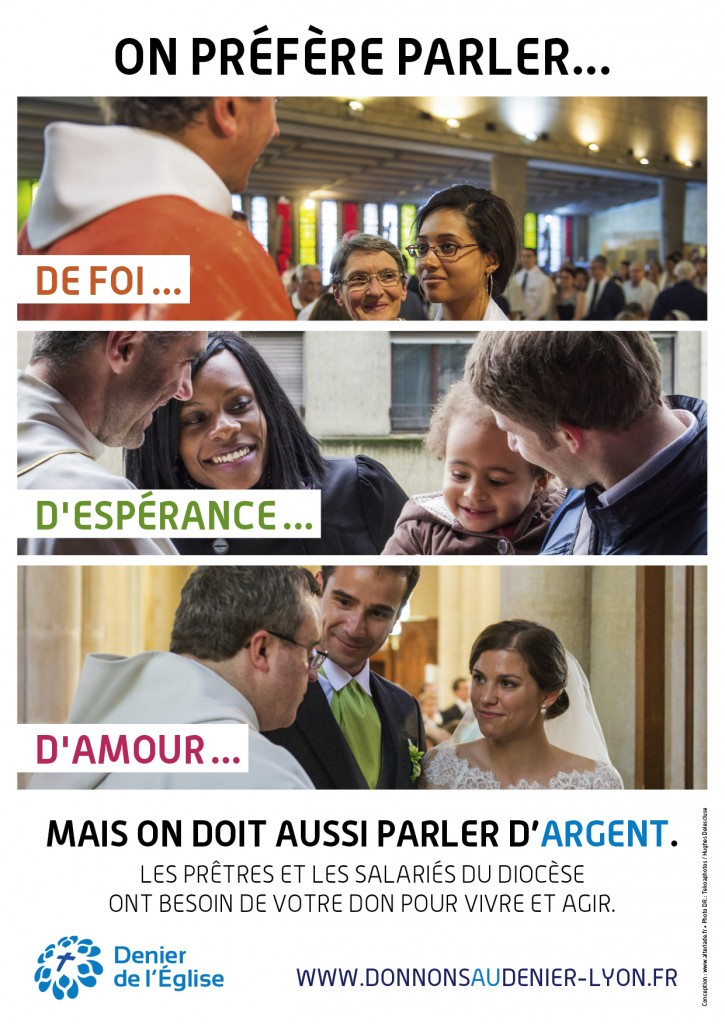 Affiche Présentoir Denier Lyon