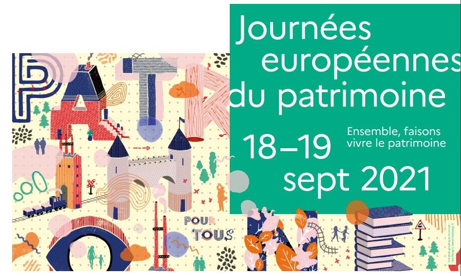 Journées du Patrimoine – Samedi 18 et Dimanche 19 Septembre